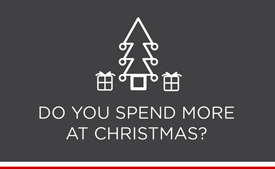 Christmas spend trends with Virgin Money credit cards|Christmas credit card spend trends