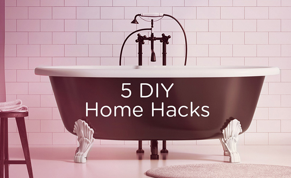 Bathroom home hacks