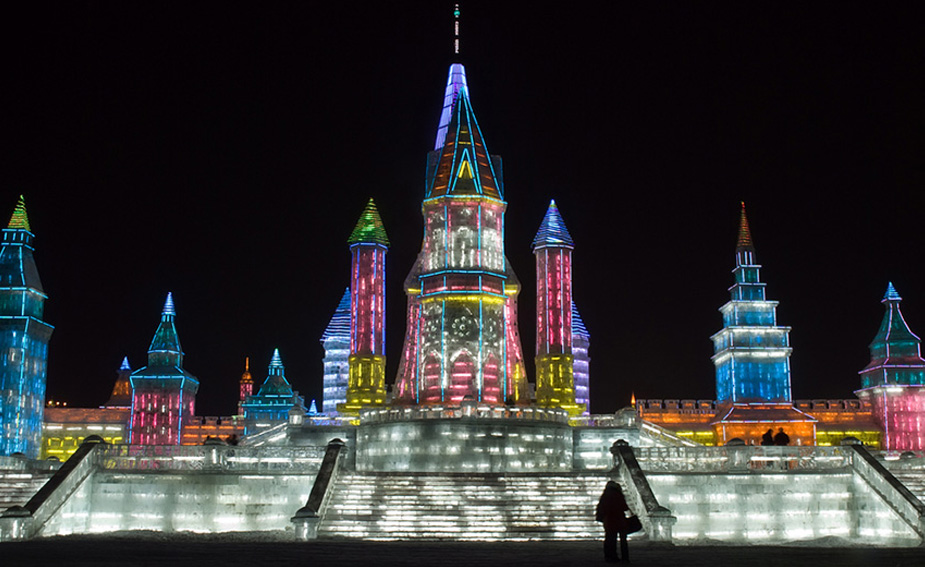 Want to see some spectacular ice sculptures? Visit China's 'Ice City'.