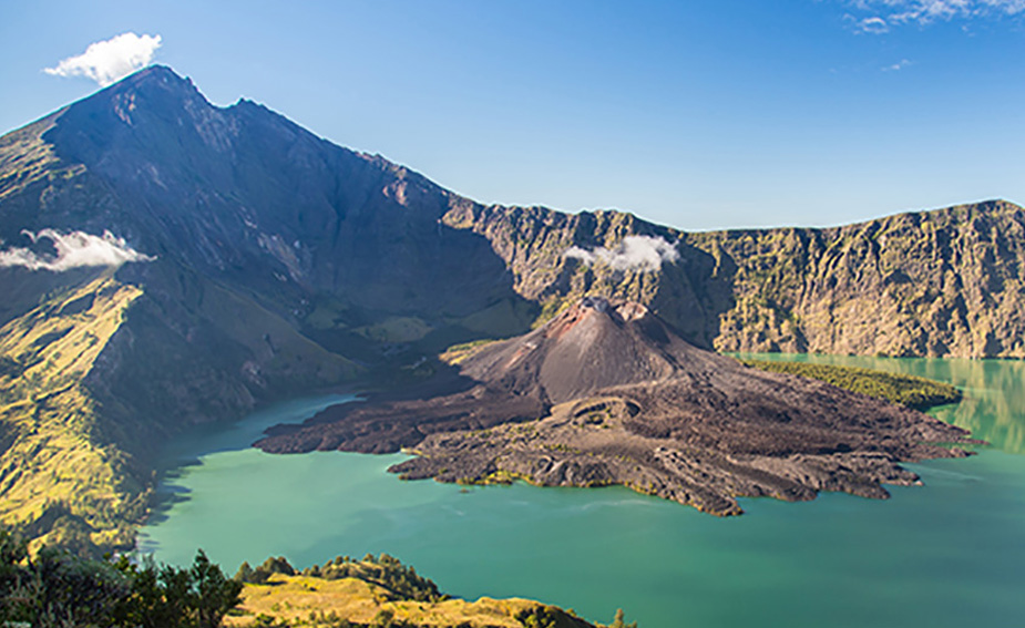 Mt Rinjani Volcanic Ash Cloud